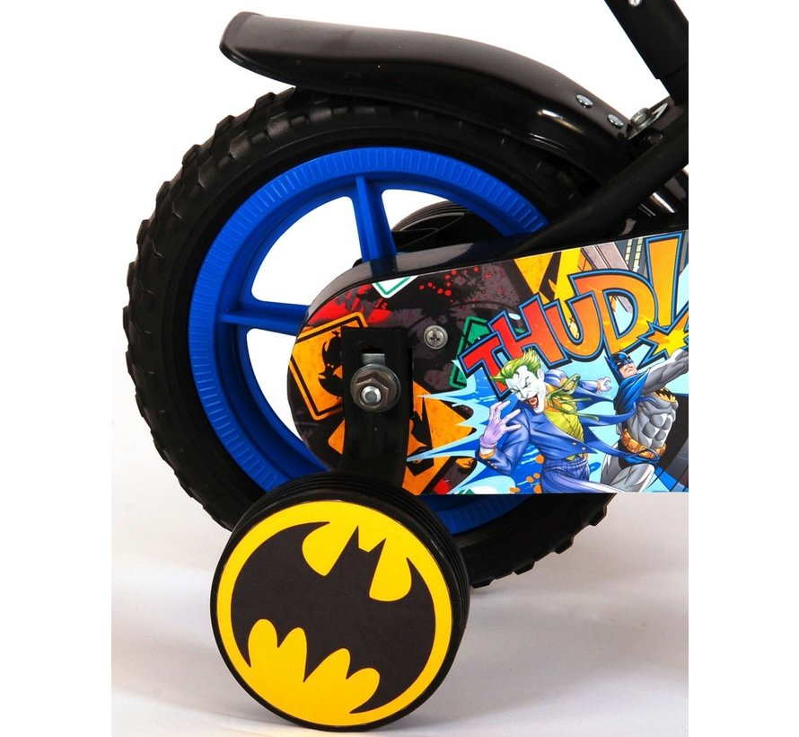 Batman Kinderfiets - Jongens - 10 inch - Zwart