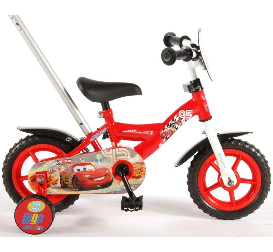 Disney Cars Kinderfiets - Jongens - 10 inch - Rood