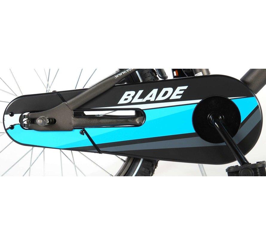 Volare Blade Kinderfiets - Jongens - 18 inch - Grijs - 95% afgemonteerd
