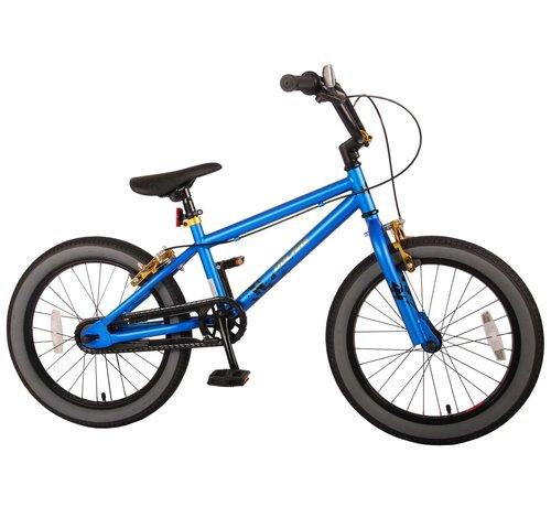 Volare Volare Cool Rider Kinderfiets - Jongens - 18 inch - Blauw - twee handremmen - 95% afgemonteerd - Prime Collection