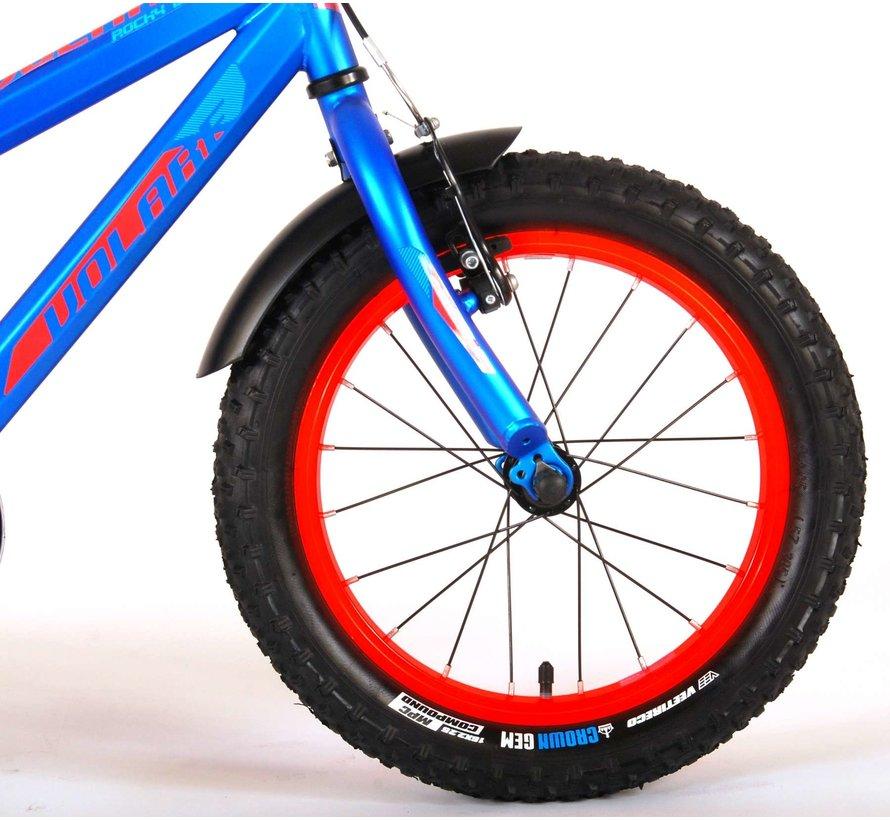 Volare Rocky Kinderfiets - 16 inch - Blauw - 95% afgemonteerd - Prime Collection