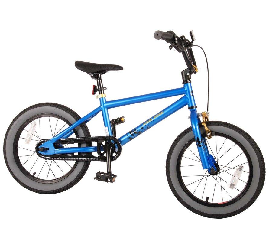 Volare Cool Rider Kinderfiets - Jongens - 16 inch - Blauw - 95% afgemonteerd