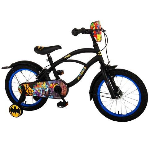 Batman Batman Kinderfiets - Jongens - 16 inch - Zwart - 2 handremmen
