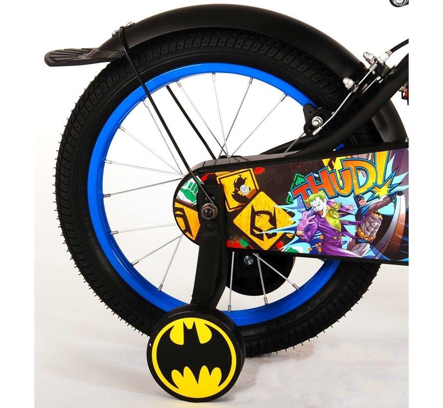 Batman Kinderfiets - Jongens - 16 inch - Zwart - 2 handremmen