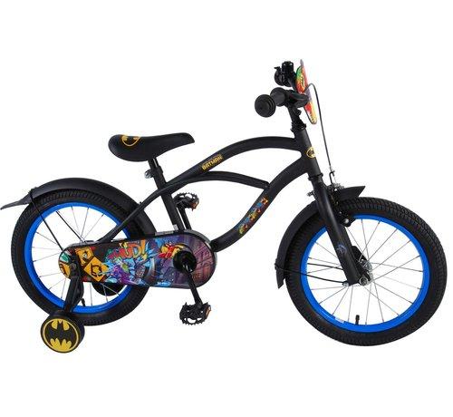 Batman Batman Kinderfiets - Jongens - 16 inch - Zwart