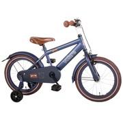Volare Volare Urban City Kinderfiets - Jongens - 16 inch - Donkerblauw - 95% afgemonteerd