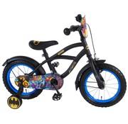 Batman Batman Kinderfiets - Jongens - 14 inch - Zwart