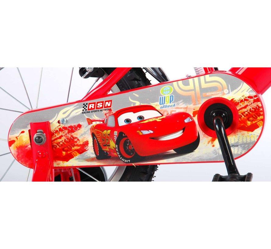 Disney Cars Kinderfiets - Jongens - 14 inch - Rood - 2 handremmen