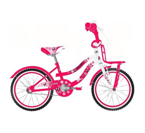 Volare Volare Lovely Kinderfiets - Meisjes - 20 inch - Rood Wit