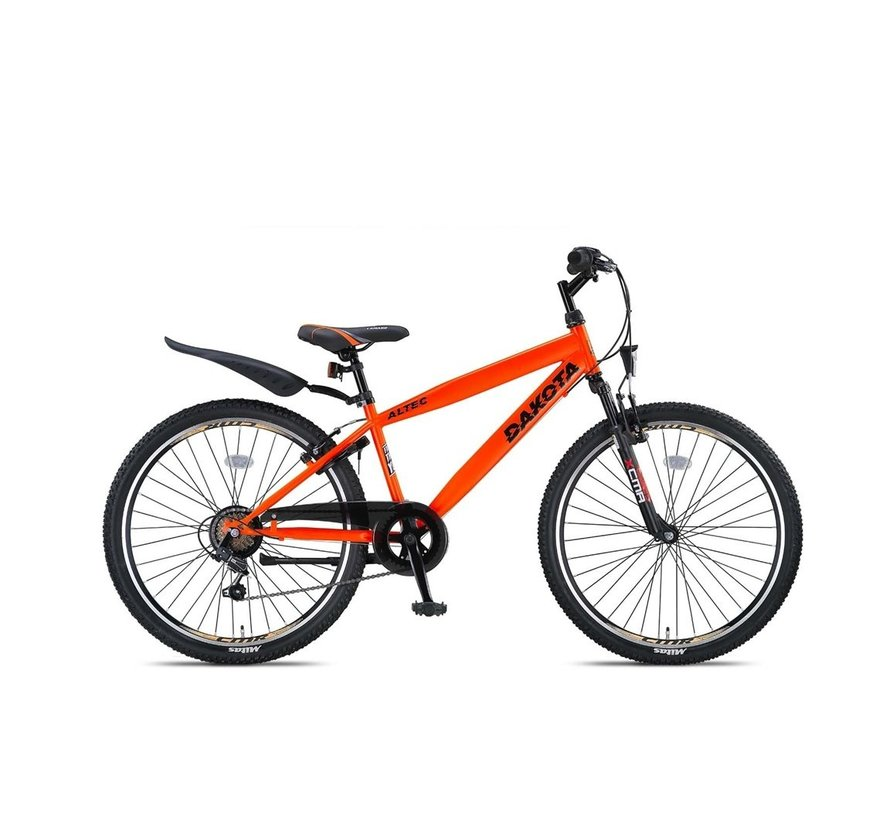 Altec Dakota 26 inch Jongensfiets Neon Orange RRR