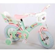 Woezel en Pip Woezel & Pip Kinderfiets - Meisjes - 12 inch - Mint/Roze