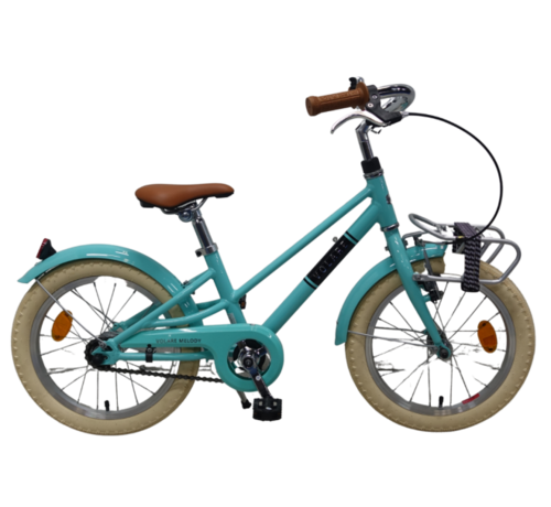 Volare Volare Melody Kinderfiets - Meisjes - 18 inch - Turquoise - Prime Collection
