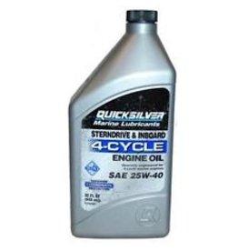 Quicksilver 92-8M0086223 25W-40 FC-W Sterndrive/Inboard Olie 1-Liter