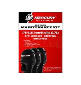 Mercury 8M0097856 Onderhoudsset Mercury 80 - 115 PK 1.7L (100 uur)
