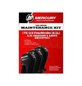 Mercury 8M0097854 Onderhoudsset Mercury 80 - 115 PK 2.1L (100 uur)
