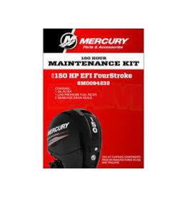 Mercury 8M0094232 Onderhoudsset Mercury 150 PK EFI & 150PK Seapro (100 uur)