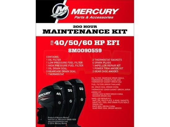 Mercury 8M0090559 Onderhoudsset Mercury 40 - 60 PK EFI 4 Stroke (300 uur)  - Copy