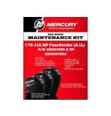 Mercury 8M0097855 Onderhoudsset Mercury 80 - 115 PK 2.1L & Seapro 75-115 (300 uur)
