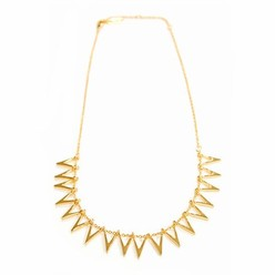 TRIANGLE SILHOUETTE COLLAR IN GOLD