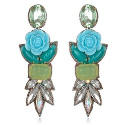 FIJI DROP EARRINGS IN TURQUOISE