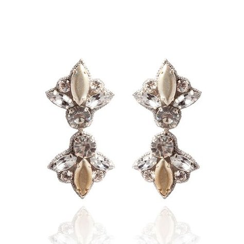 SUZANNA DAI SUNSET BOULEVARD SMALL DROP EARRINGS