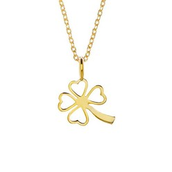 CLOVER NECKLACE IN GOLD