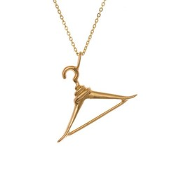 HANGER NECKLACE IN GOLD