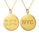 SAMANTHA FAY NEW YORK NECKLACE GOLD