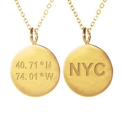 NEW YORK NECKLACE GOLD