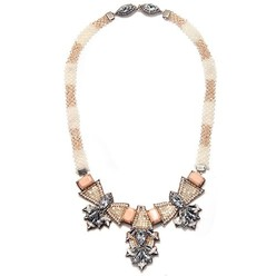 BARSELOI NECKLACE IN IVORY/BLUSH