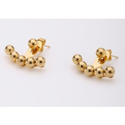 Round Ball Studs Earrings