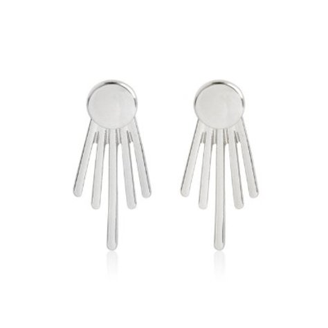 STUD EARRINGS IN SILVER