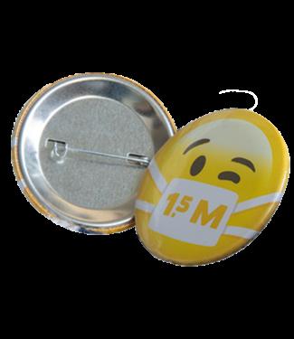 Social distance button