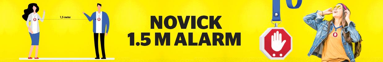 De Novick: maak 1,5 meter zichtbaar