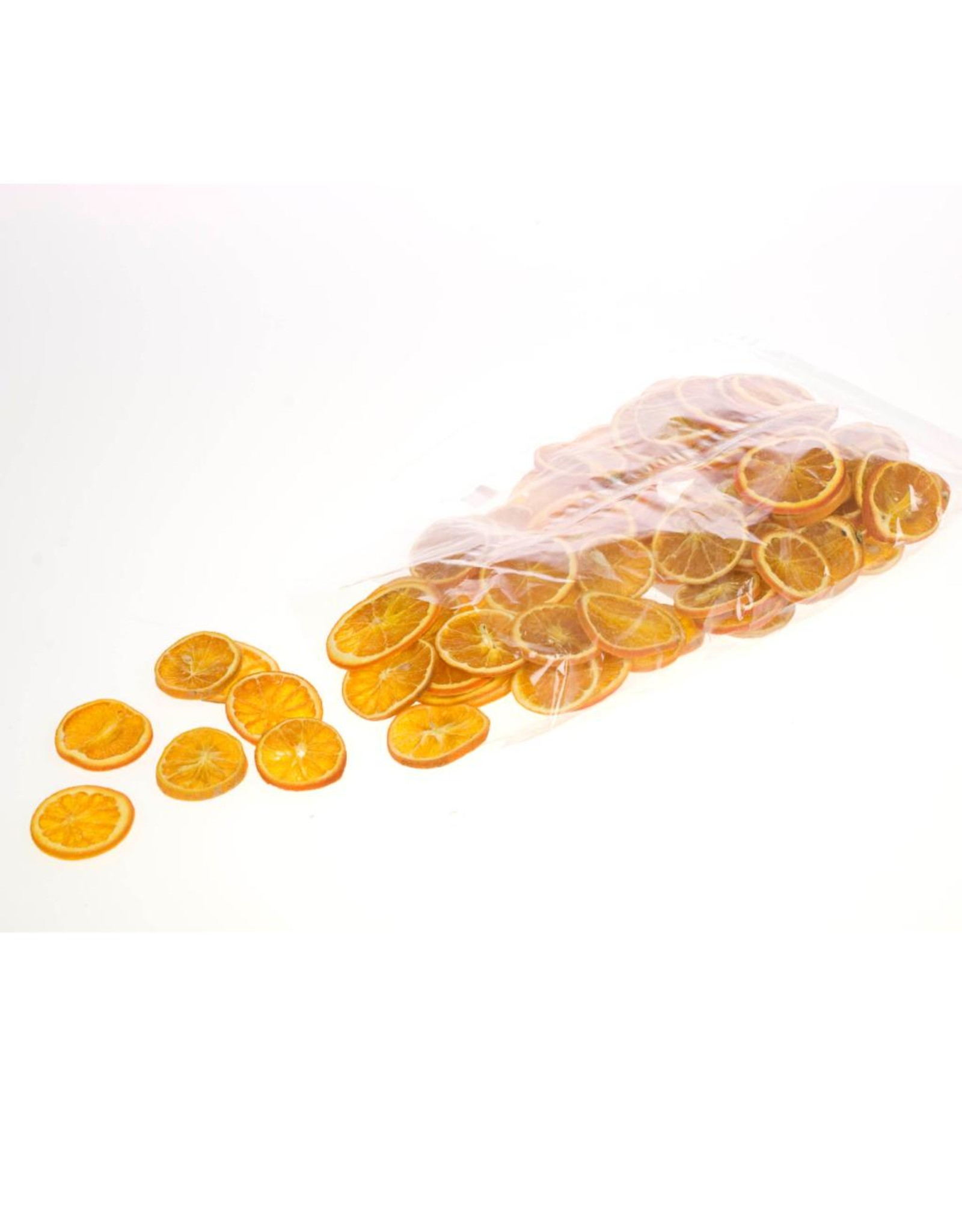 Orange slice 250gr bag natural orange x 40