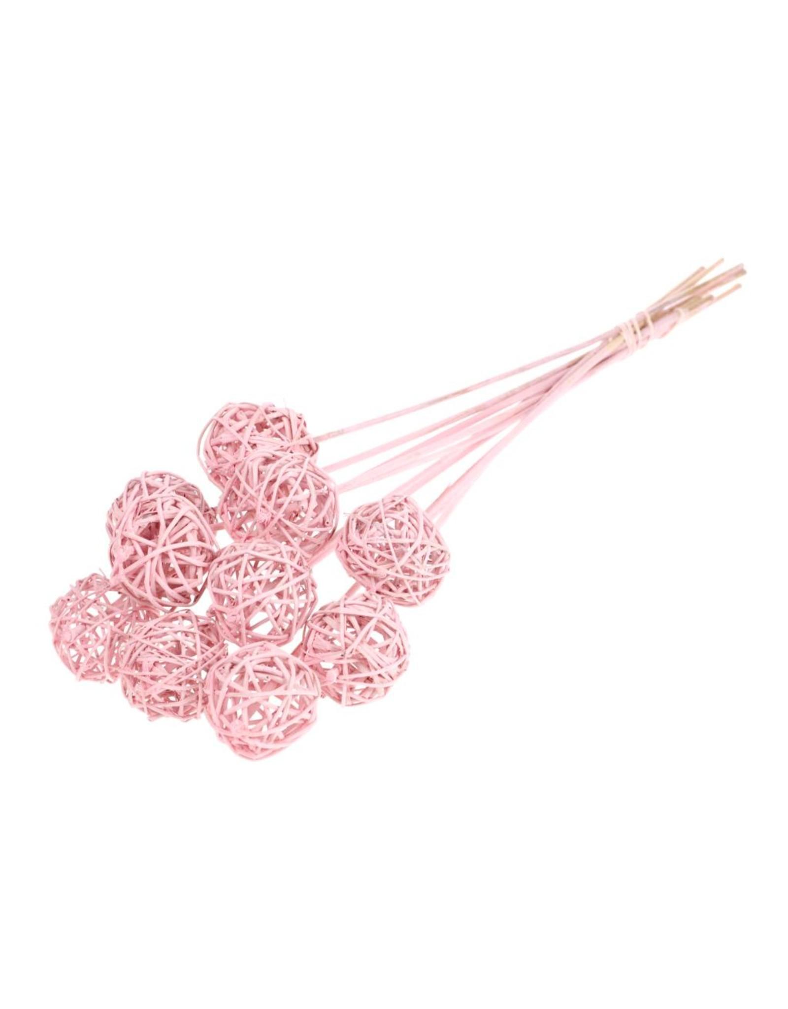 Brunch ball 5cm o/s pink misty x 15
