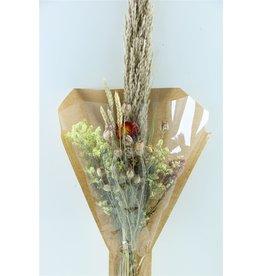 Dried Bouquet Tutti Heli Orange x 1