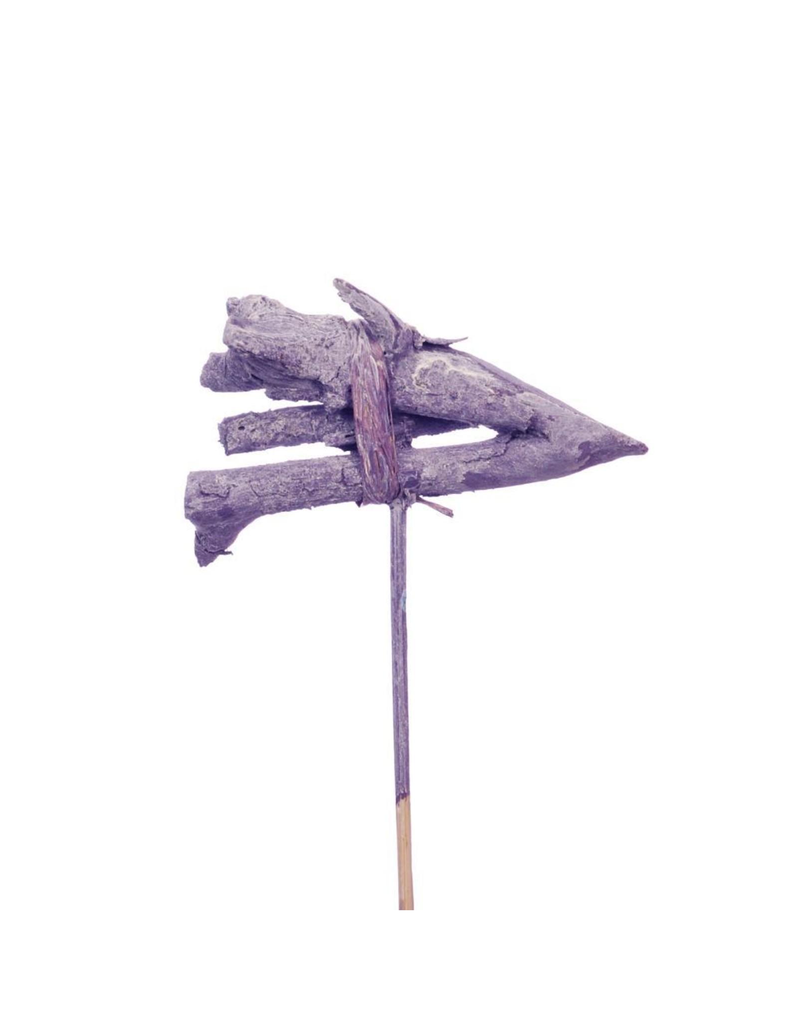 John branch posy 8cm posy o/s 10pc purple wash x 10