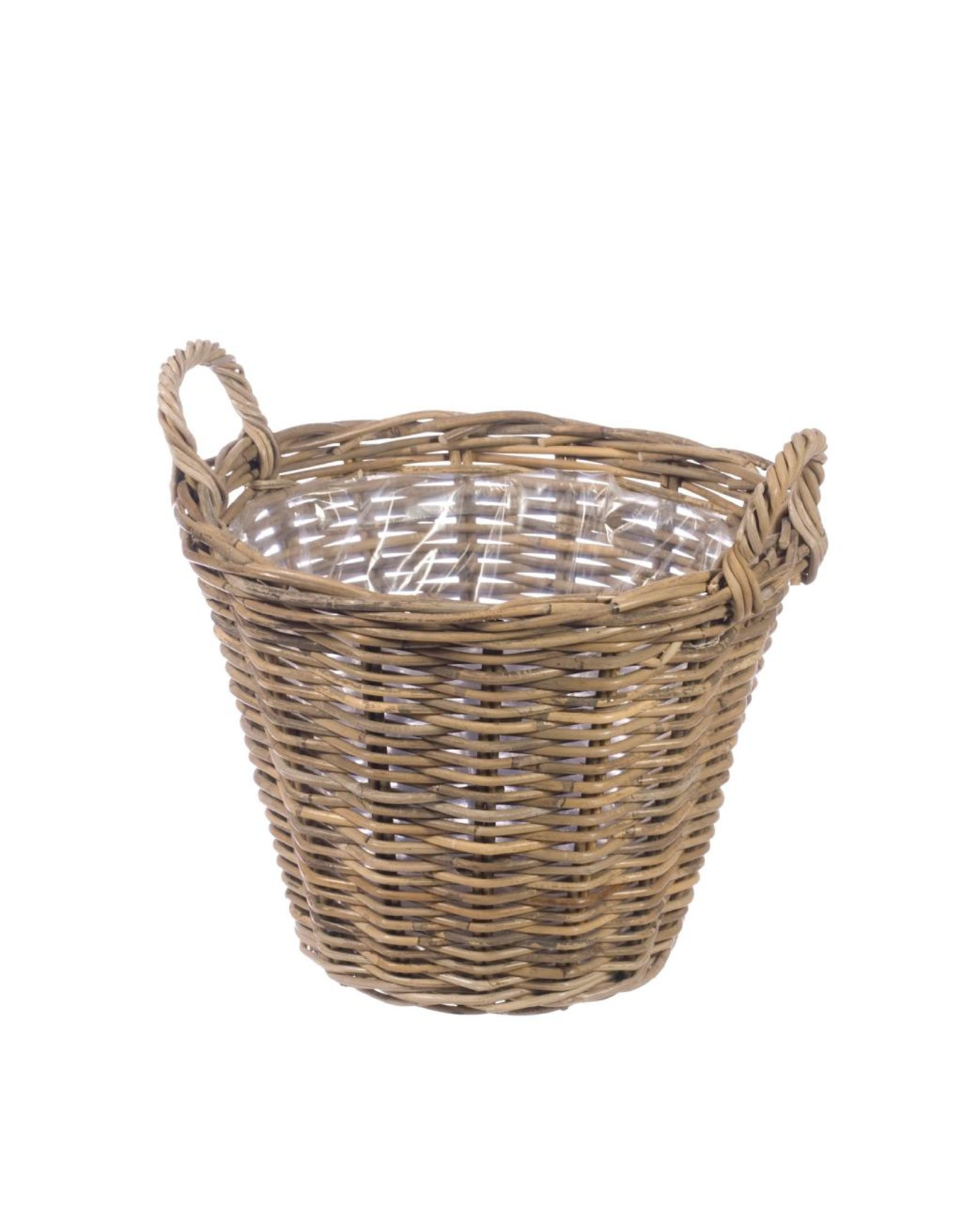 Basket 38cm with ears natural x 1