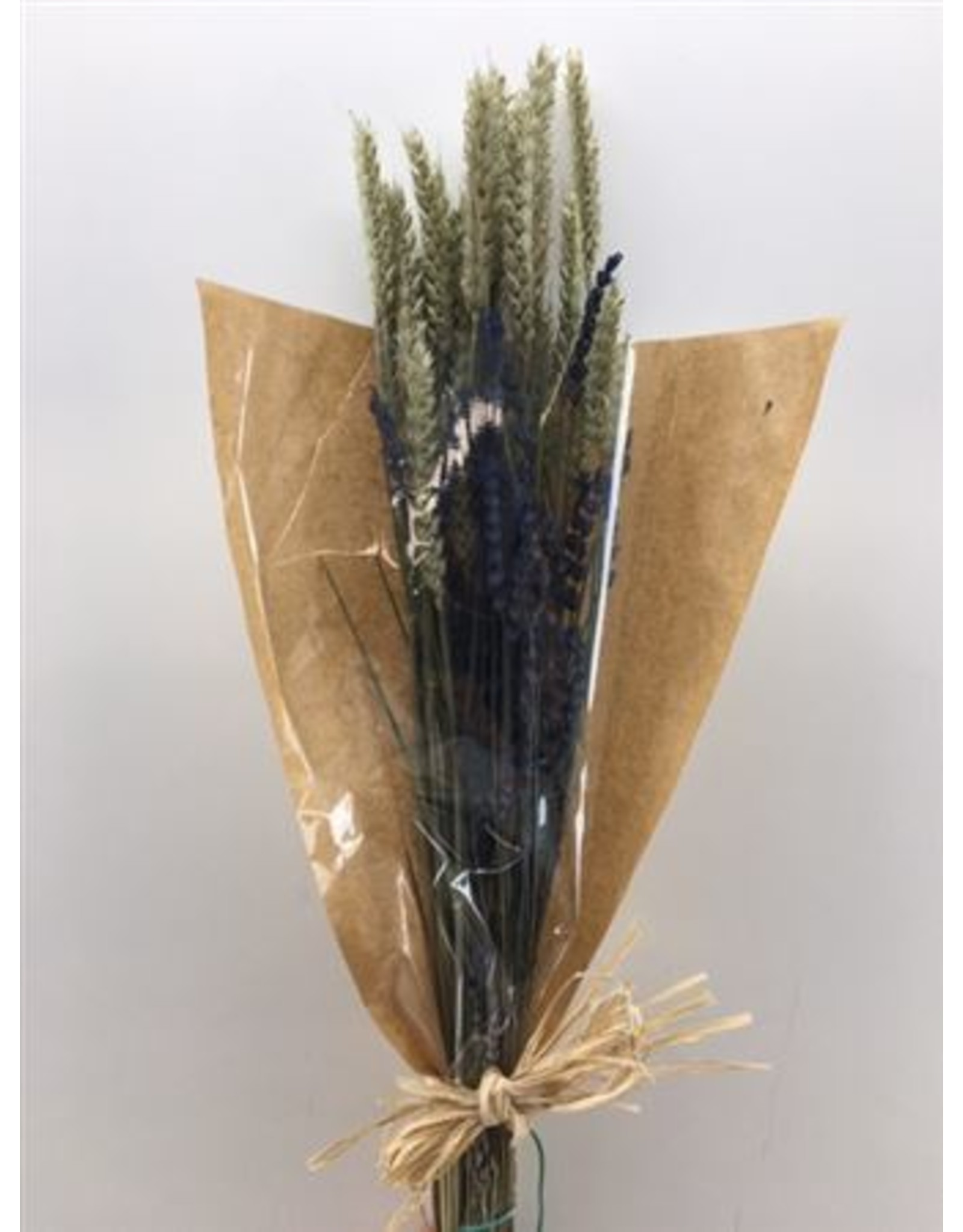 Dried Bouquet Deluxe Triticum/lavendel x 2