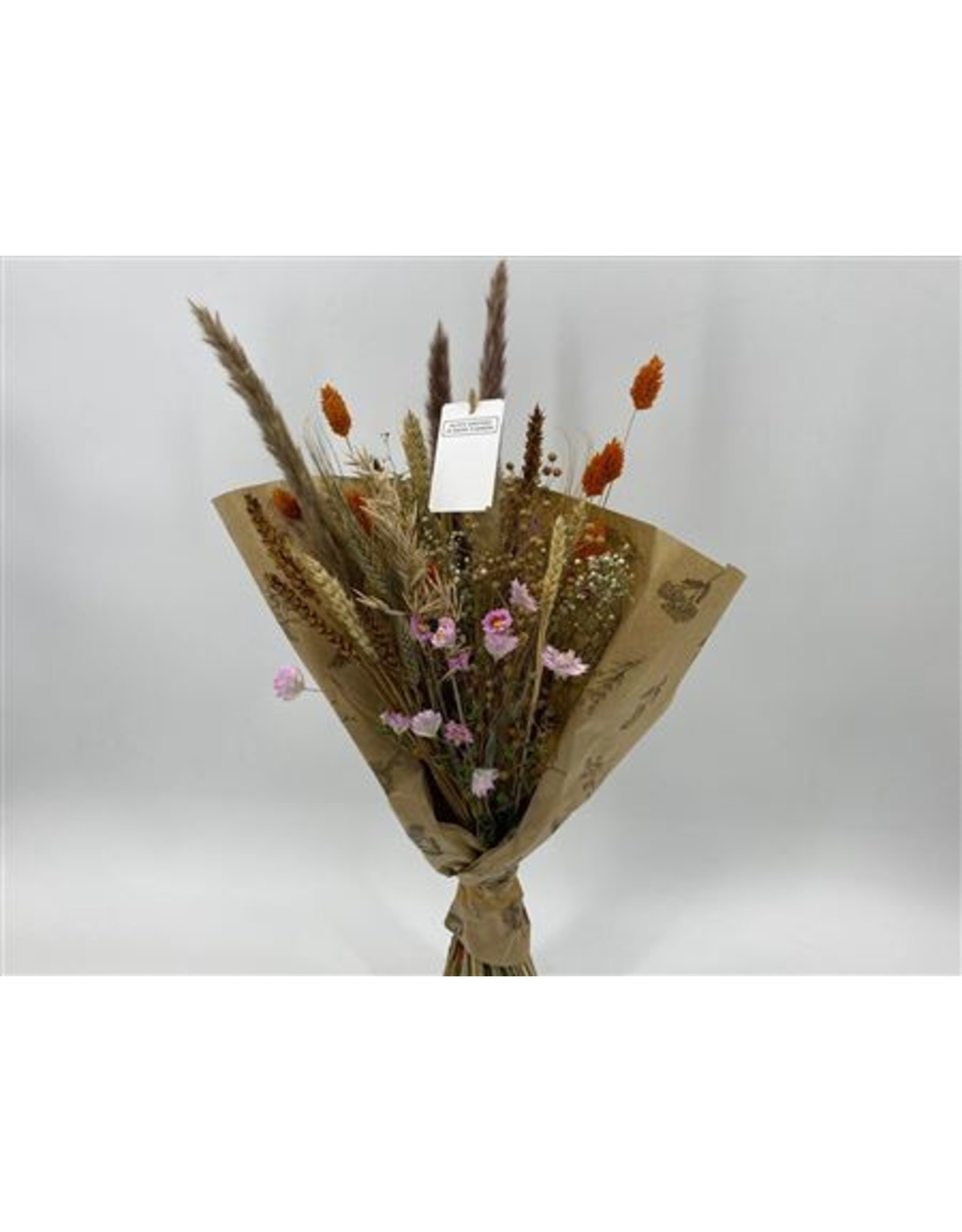 Dried Bouquet Exclusive Autumn Pink x 1