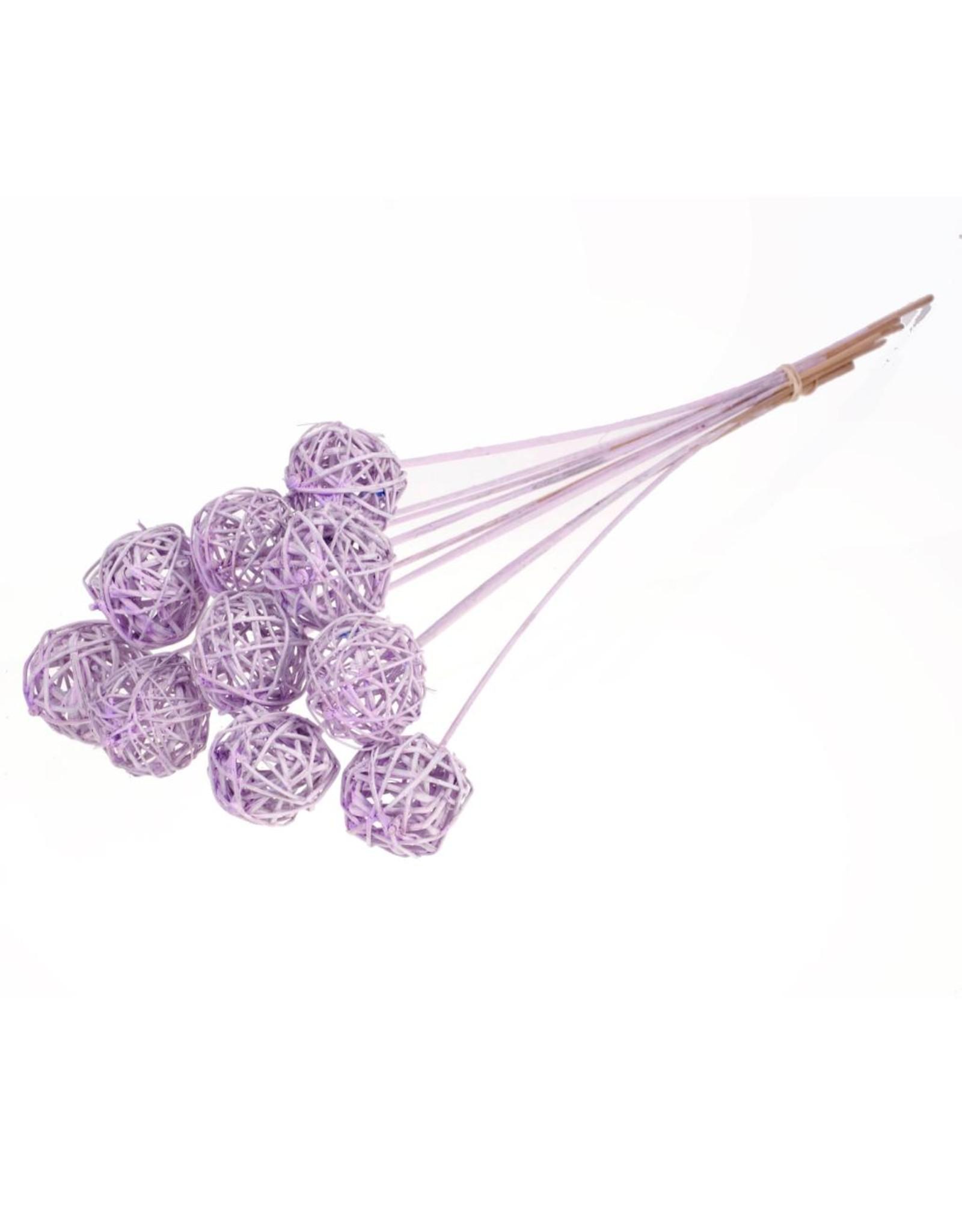 Brunch ball 5cm o/s 10pc lilac misty x 15