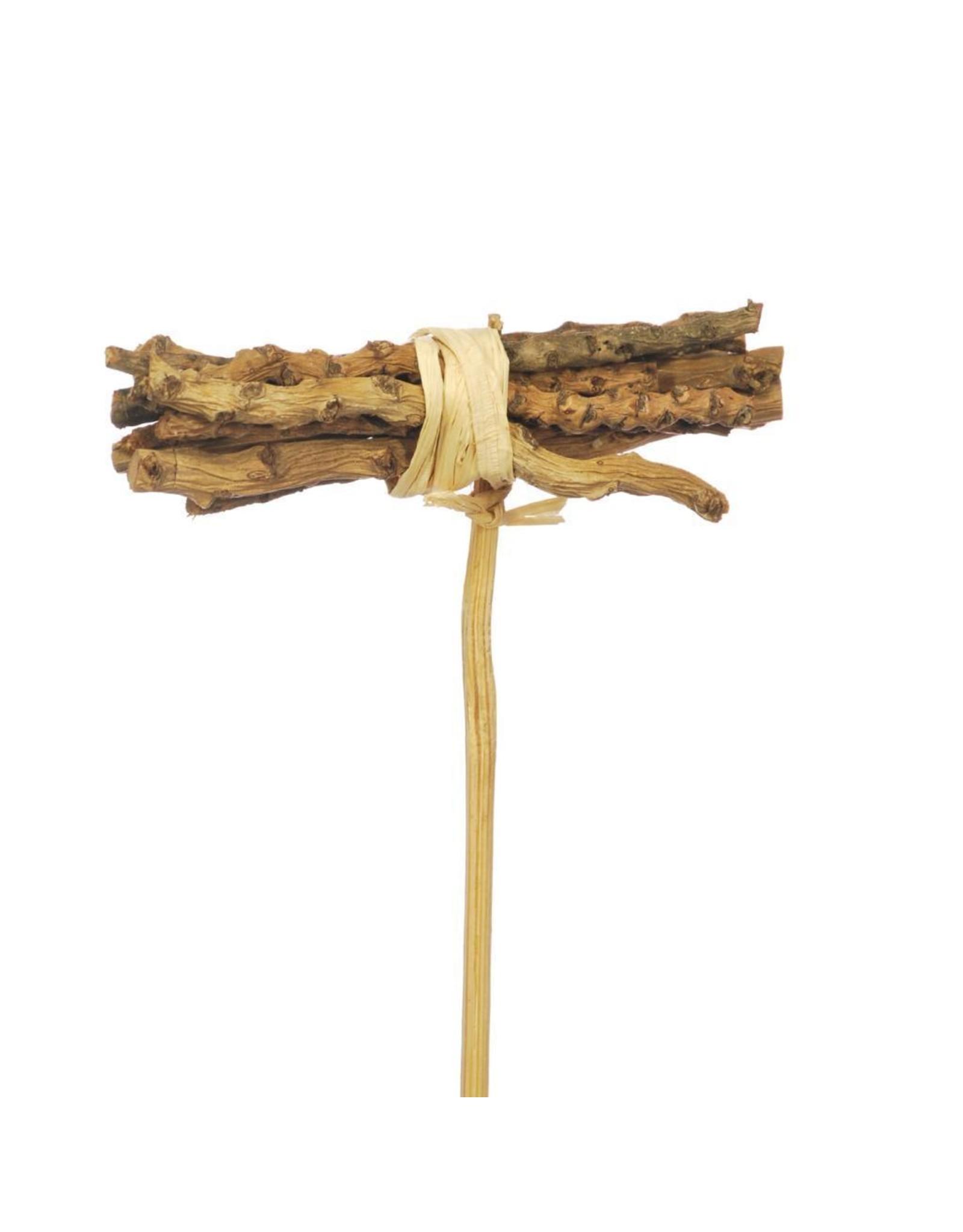 Cocochain posy 8cm posy 10pc on 10cm stem natural x 40
