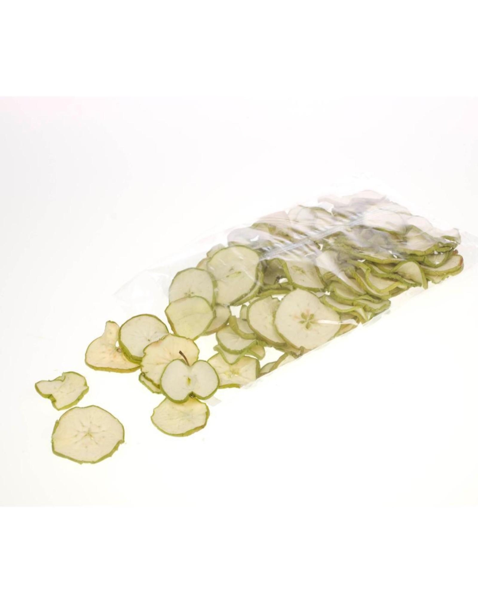 Apple sliced 250gr bag SB natural green x 4