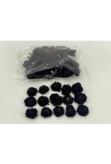 Dried Dahlia Heads Black Bag (50-60 Heads) x 1
