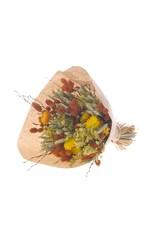 Bouquet mix JOY 55cm orange/green x 6
