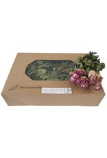 Dried scented roses 10pc per bunch Lilac x 8