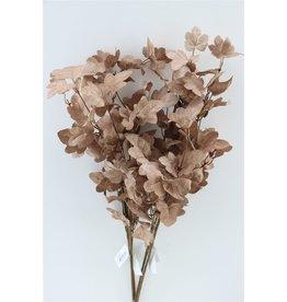 GF Deco Ivy Leaf 77cm Brown P. Stem x 4