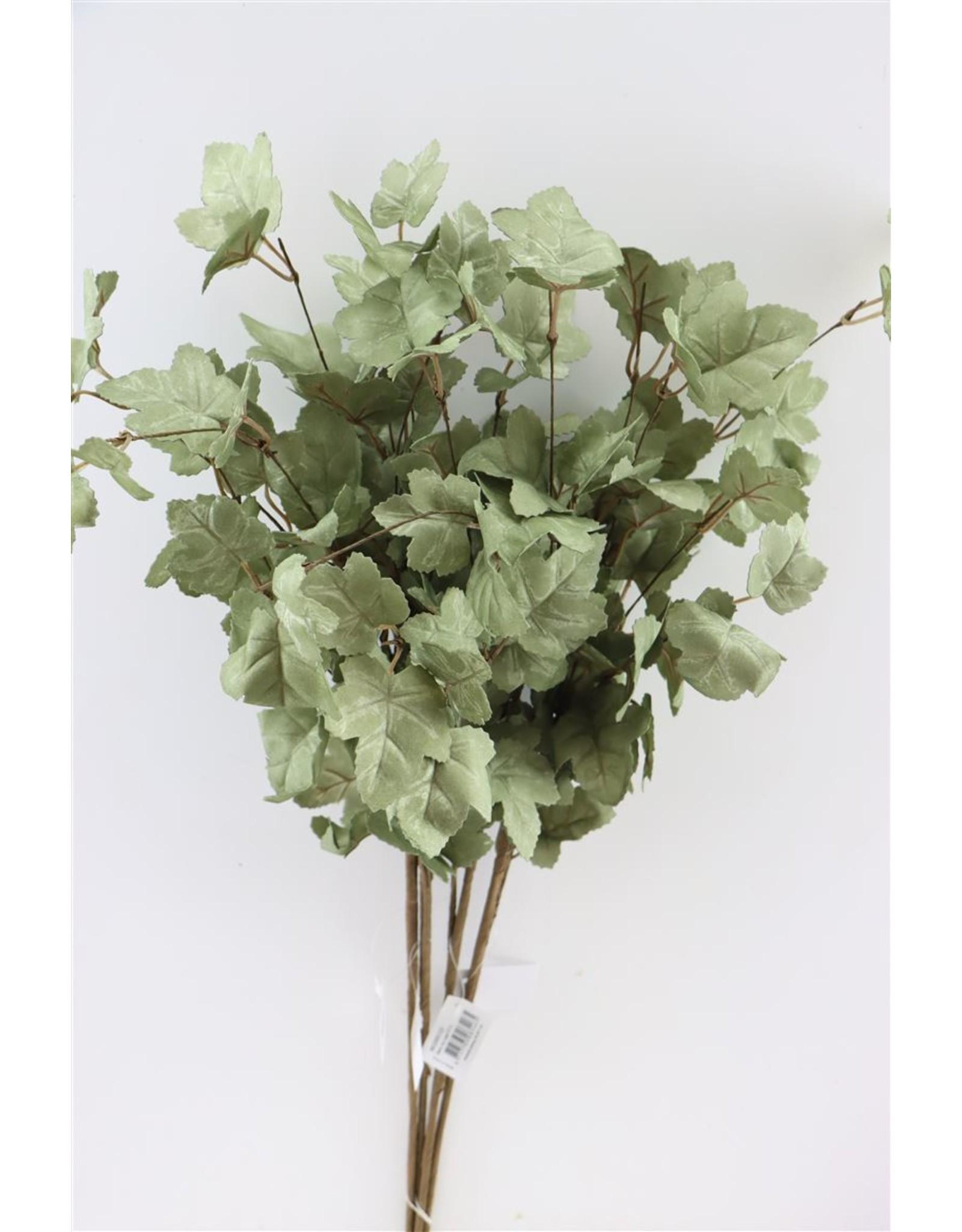 GF Deco Ivy Leaf 77cm Green P. Stem x 4