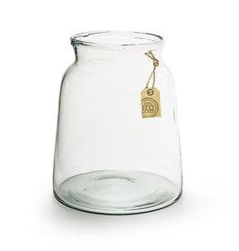 4AT Glas Eco Vaas Eddy d17/21*22cm x 4
